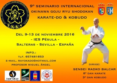9th International Okinawa Goju Ryu Shodokan Seminar